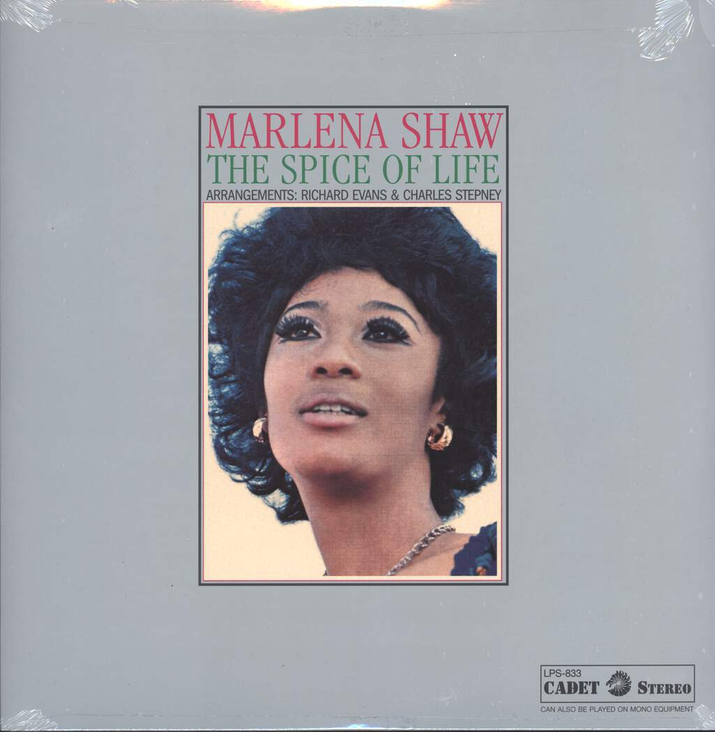 Marlena Shaw: The Spice Of Life, LP (Vinyl)