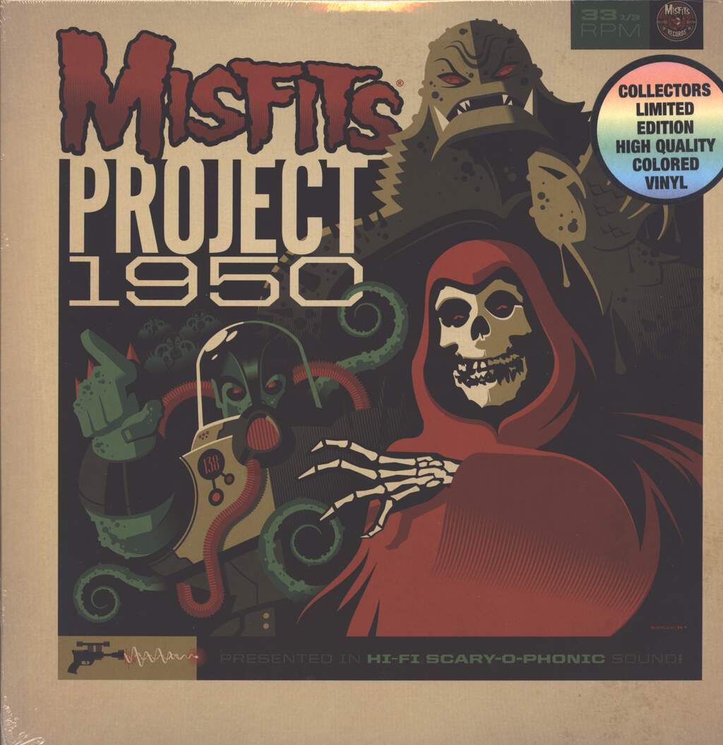 Misfits: Project 1950 (Expanded Edition), LP (Vinyl)