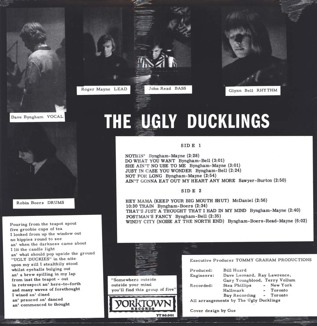 The Ugly Ducklings: Somewhere Outside, LP (Vinyl)