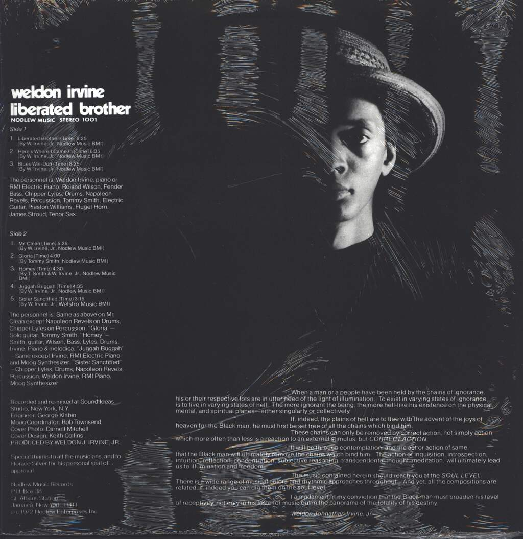 Weldon Irvine: Liberated Brother, LP (Vinyl)