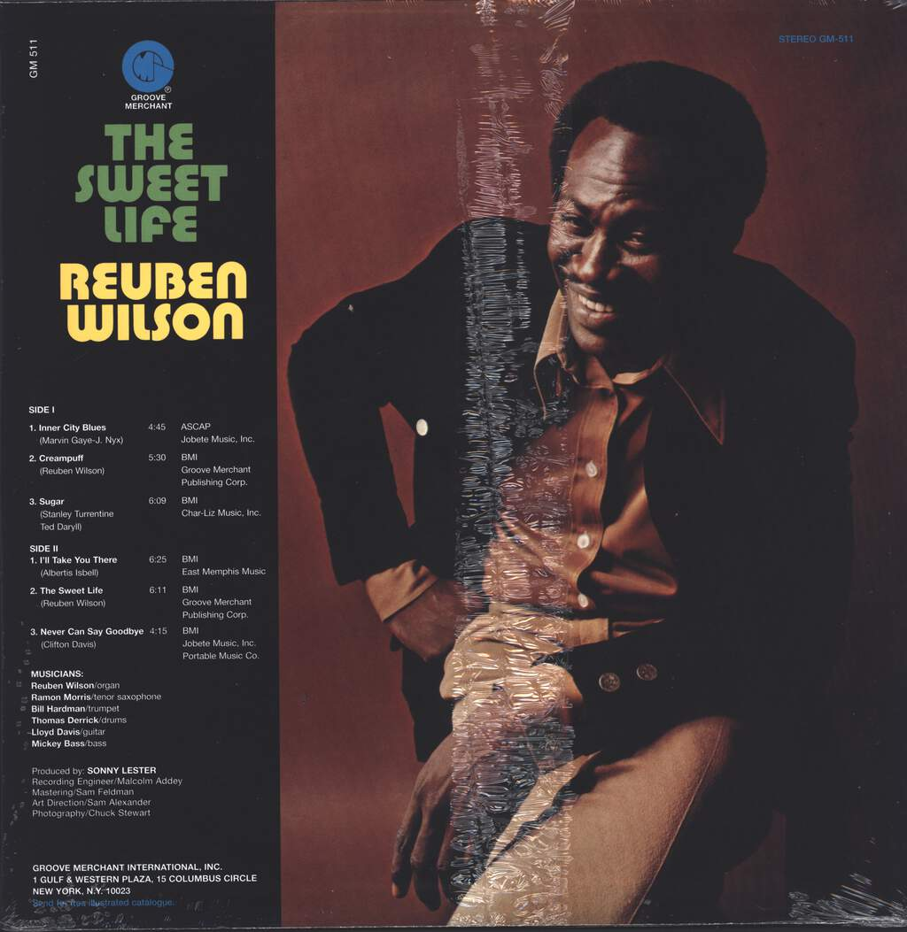Reuben Wilson: The Sweet Life, LP (Vinyl)