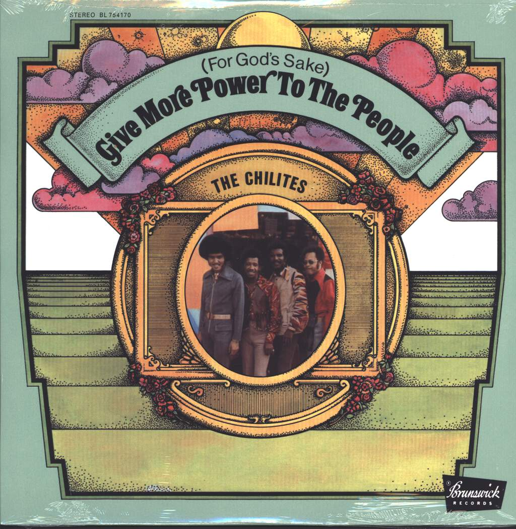 The Chi-Lites: (For God's Sake) Give More Power To The People, LP (Vinyl)