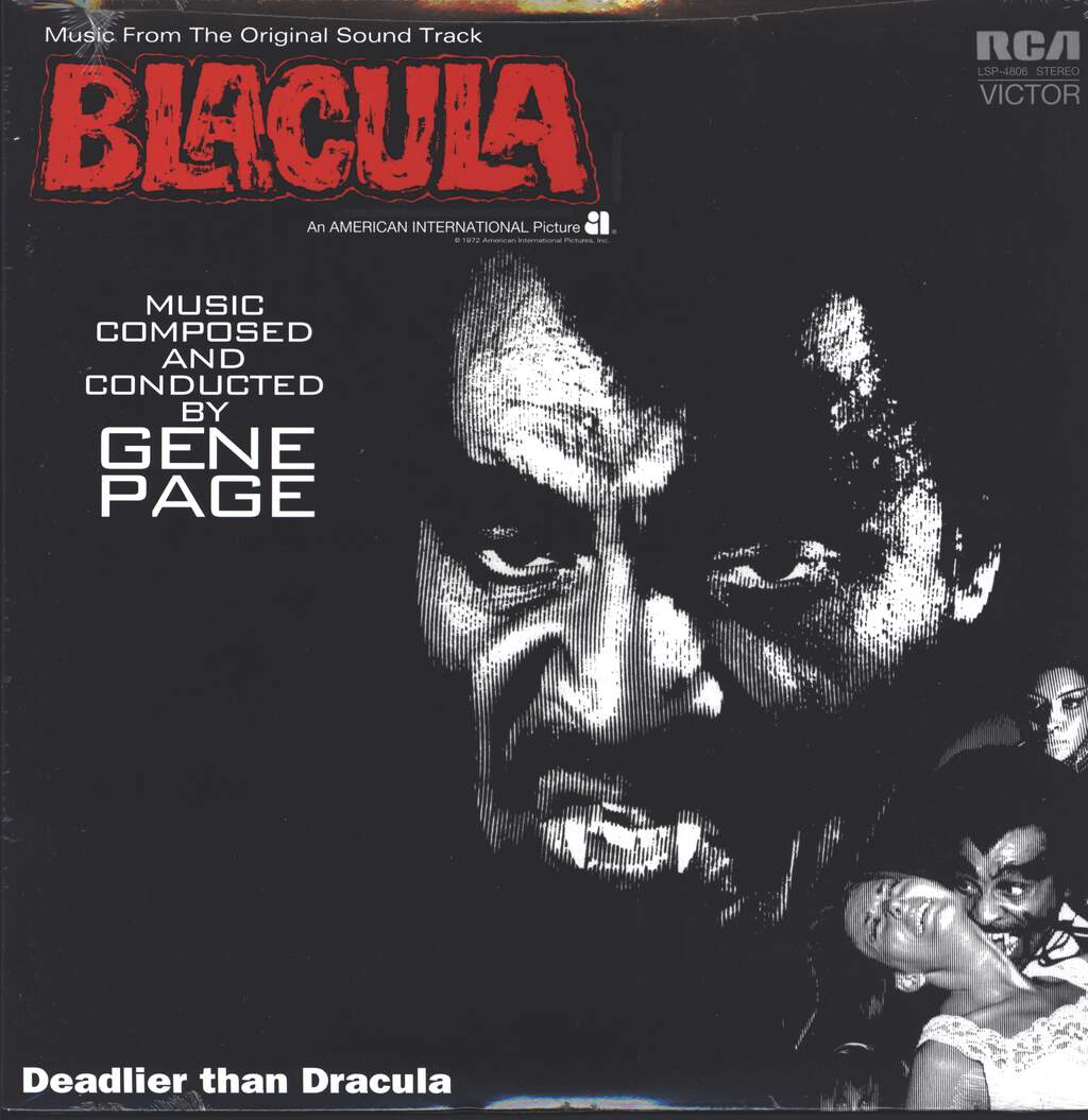 Gene Page: Blacula (Music From The Original Soundtrack), LP (Vinyl)