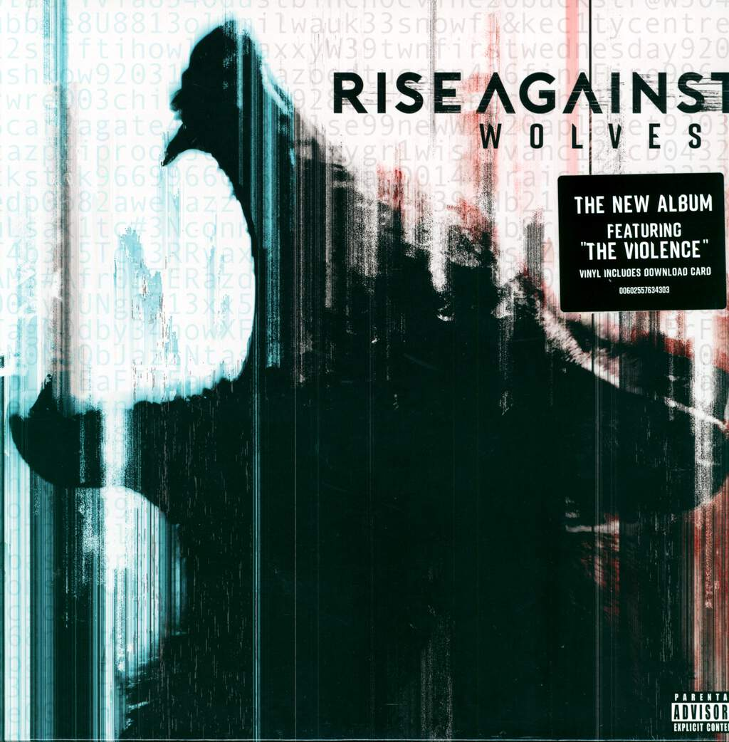 Rise Against: Wolves, LP (Vinyl)