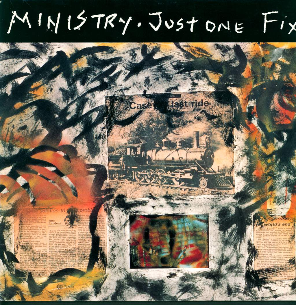 "Ministry: Just One Fix, 12"" Maxi Single (Vinyl)"