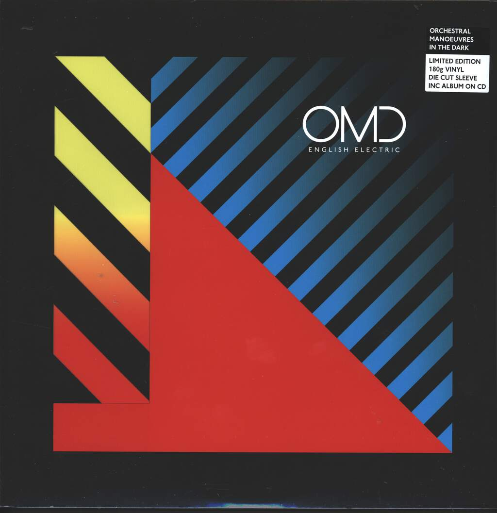 Orchestral Manoeuvres In The Dark: English Electric, LP (Vinyl)