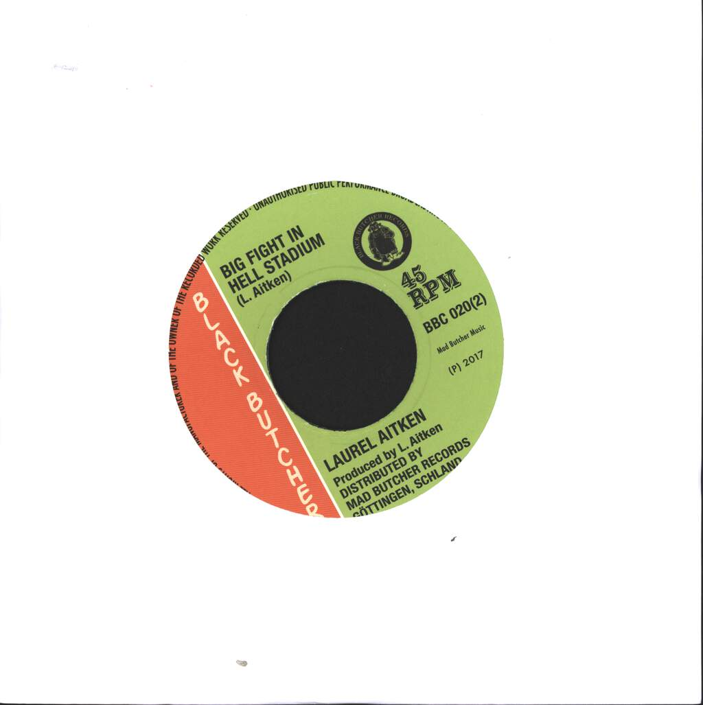 "Girlie: Lawd Doctor / Big Fight In Hell, 7"" Single (Vinyl)"