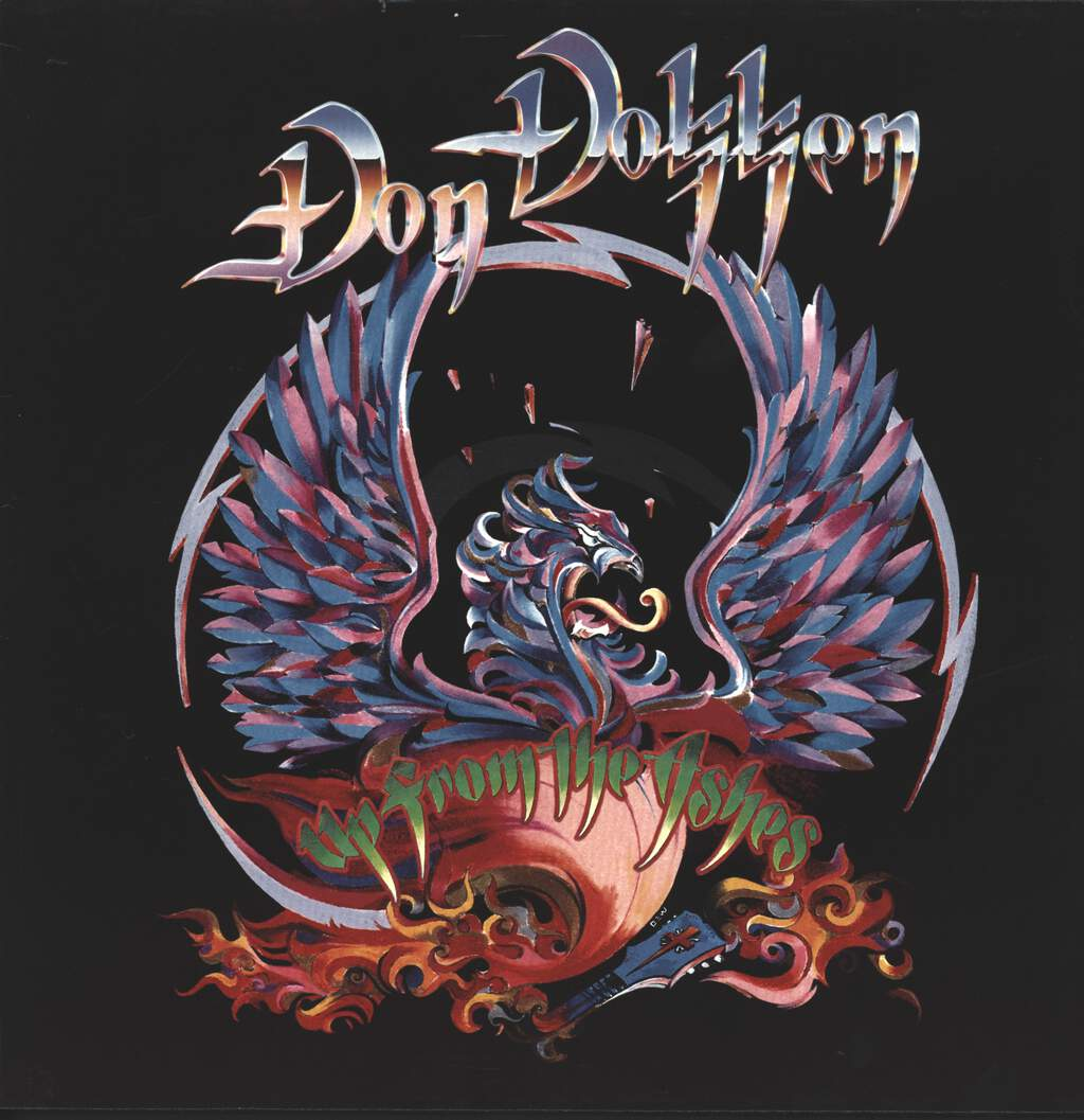 Don Dokken: Up From The Ashes, LP (Vinyl)