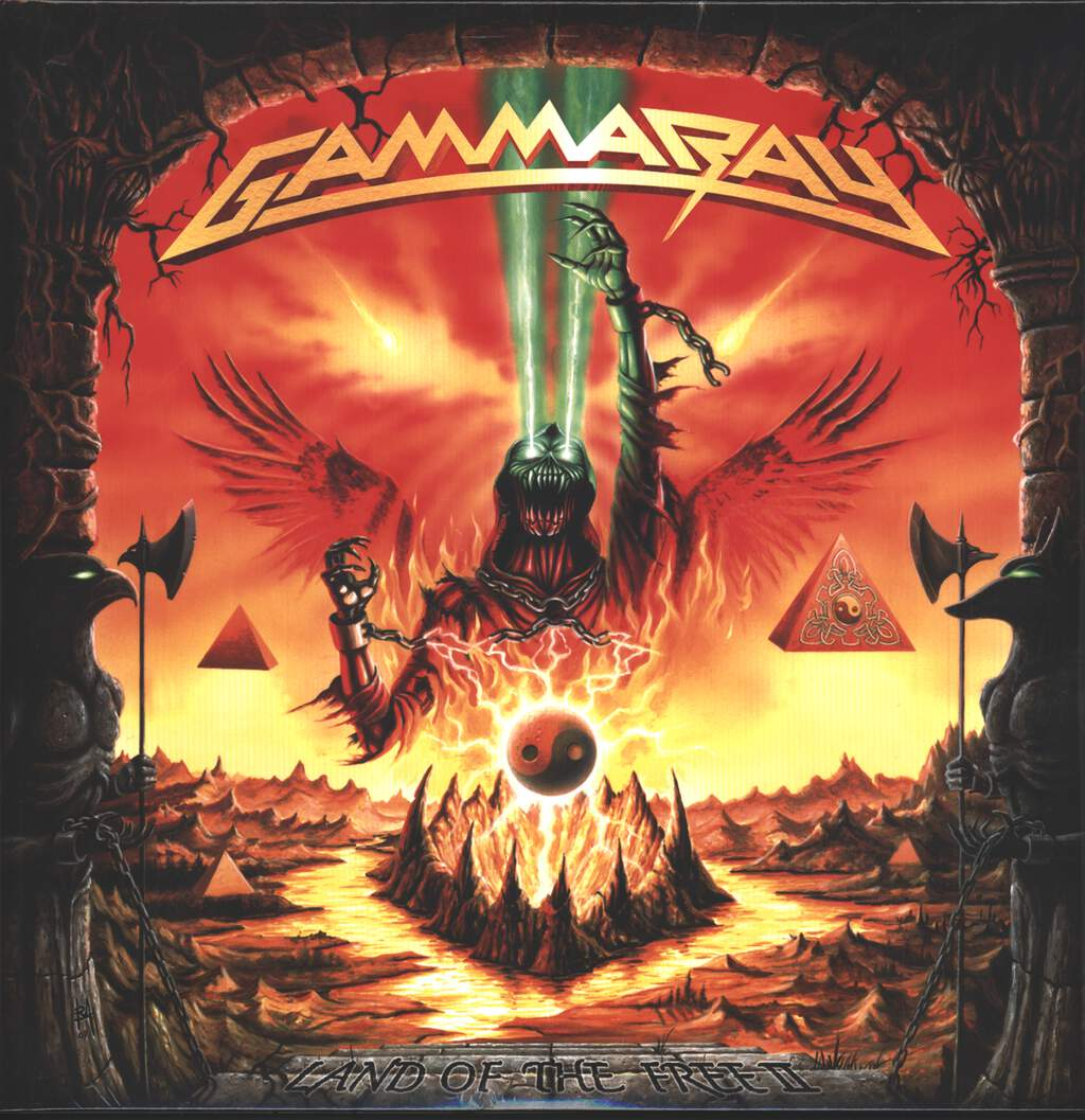 Gamma Ray: Land Of The Free II, 2×LP (Vinyl)