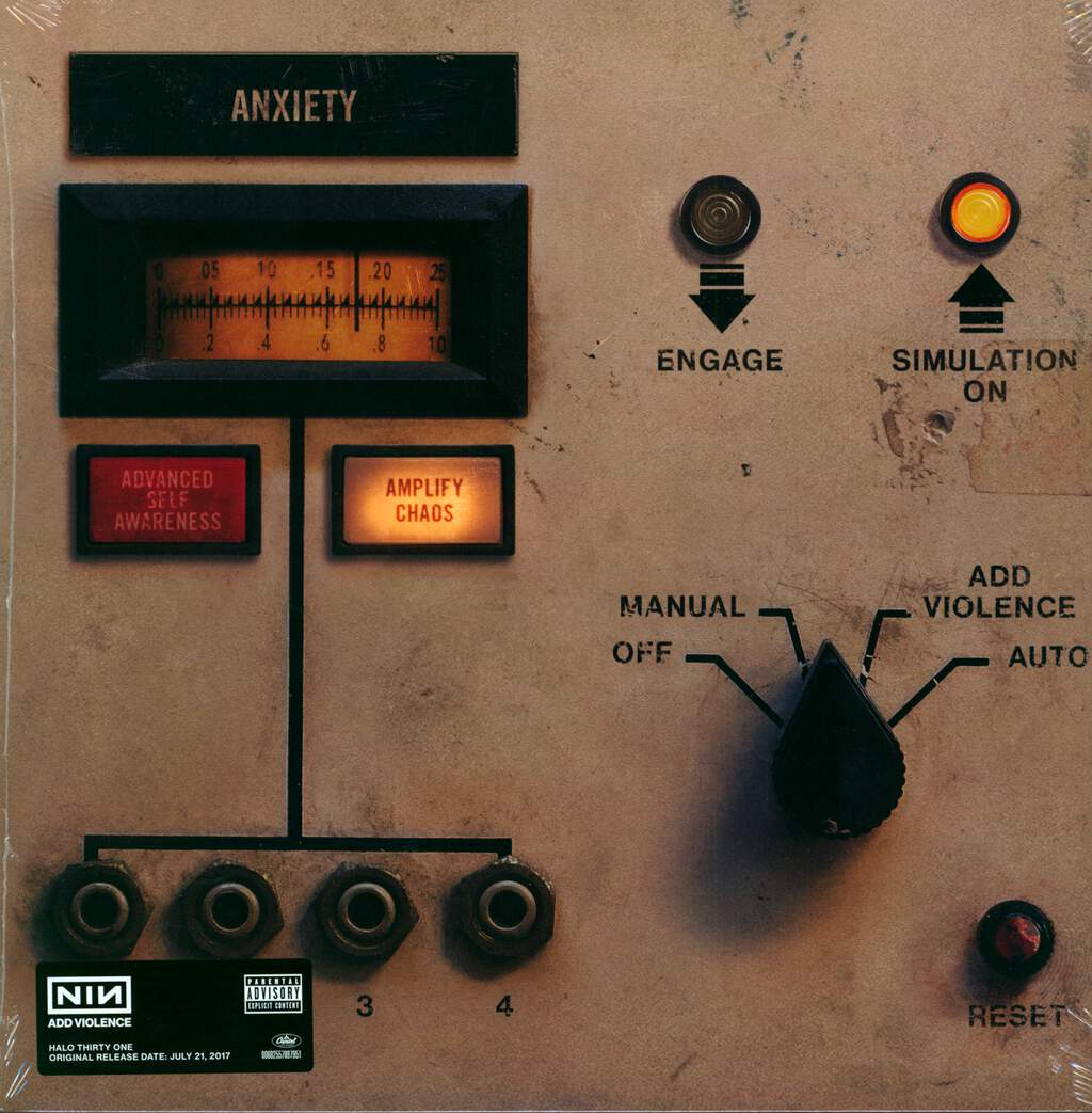 "Nine Inch Nails: Add Violence, 12"" Maxi Single (Vinyl)"