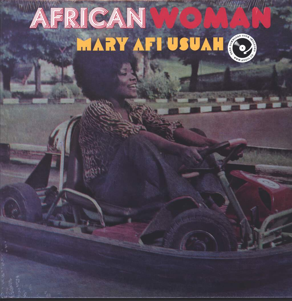 Mary Afi Usuah: African Woman, LP (Vinyl)