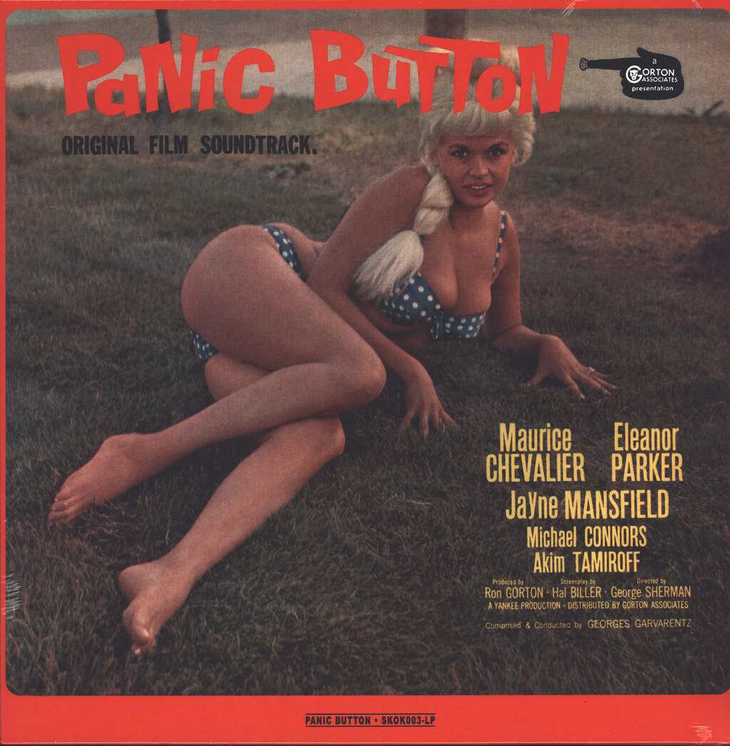 Georges Garvarentz: Panic Button, LP (Vinyl)