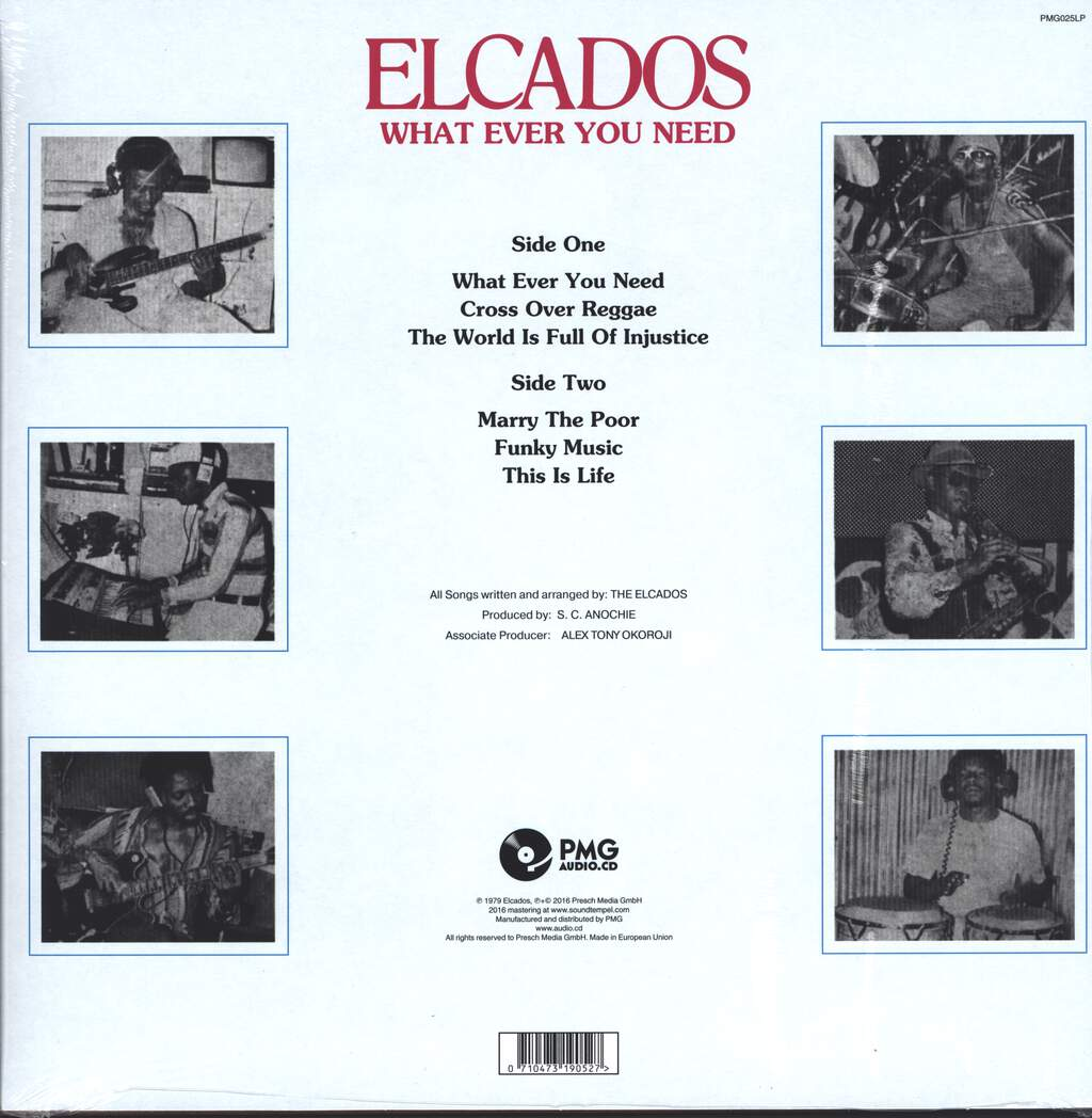 The Elcados: What Ever You Need, LP (Vinyl)