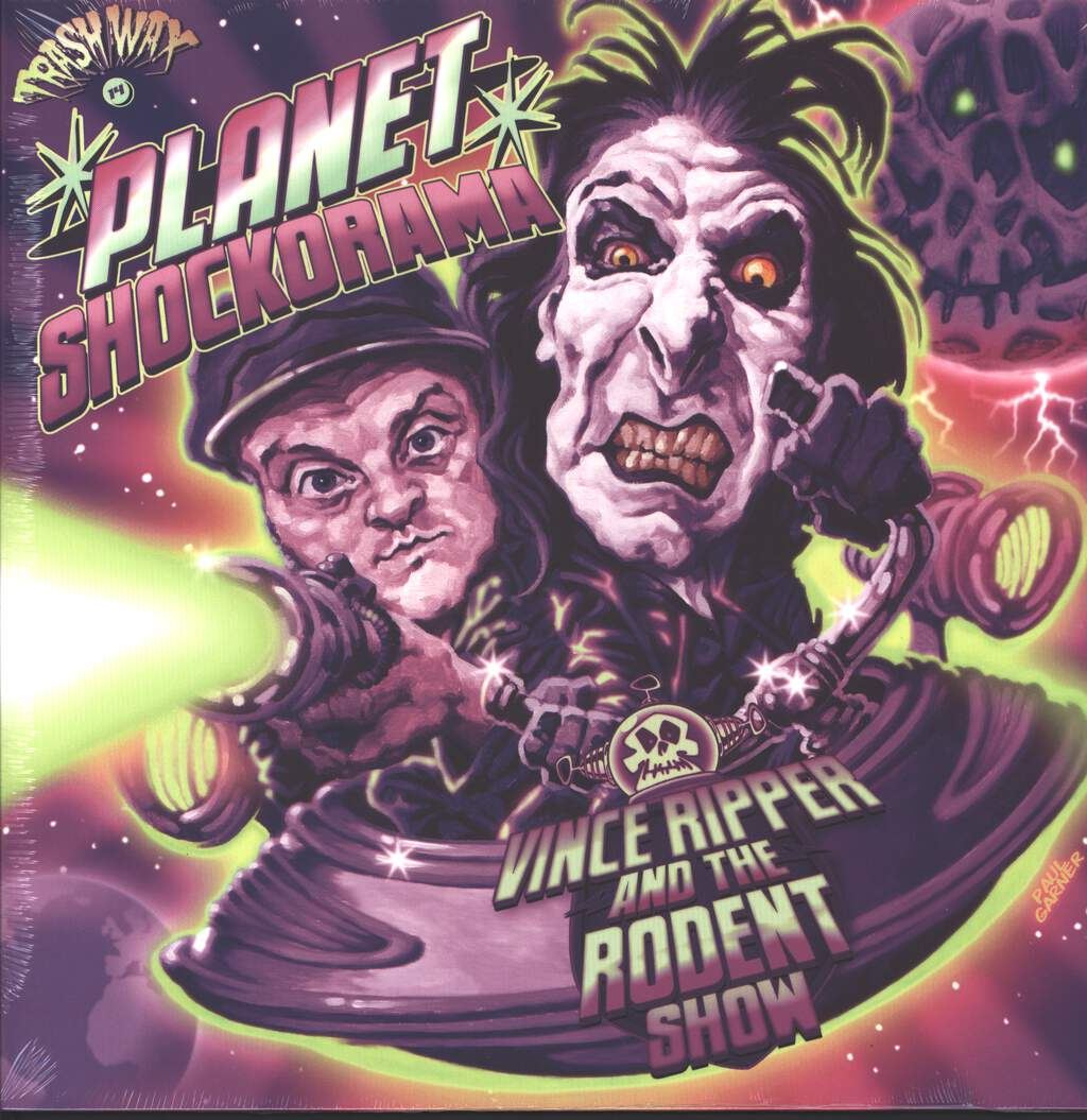Vince Ripper And The Rodent Show: Planet Shockorama, LP (Vinyl)