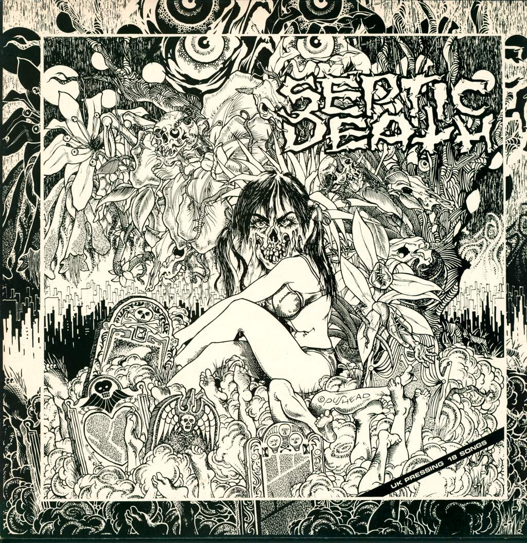 Septic Death: Now That I Have The Attention What Do I Do With It?, LP (Vinyl)