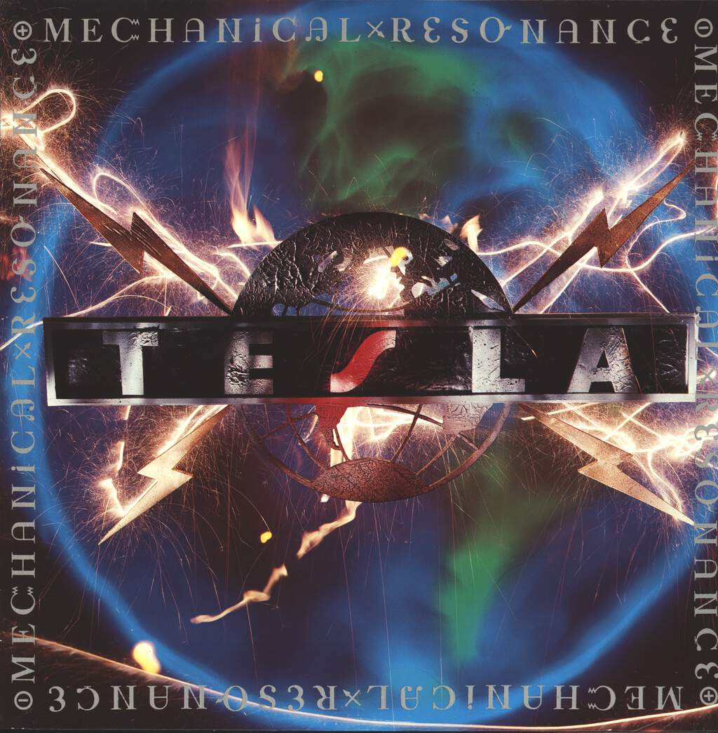 Tesla: Mechanical Resonance, LP (Vinyl)