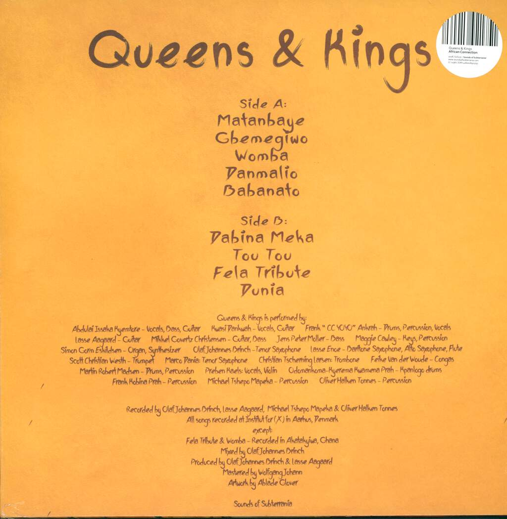 African Connection: Queens & Kings, LP (Vinyl)