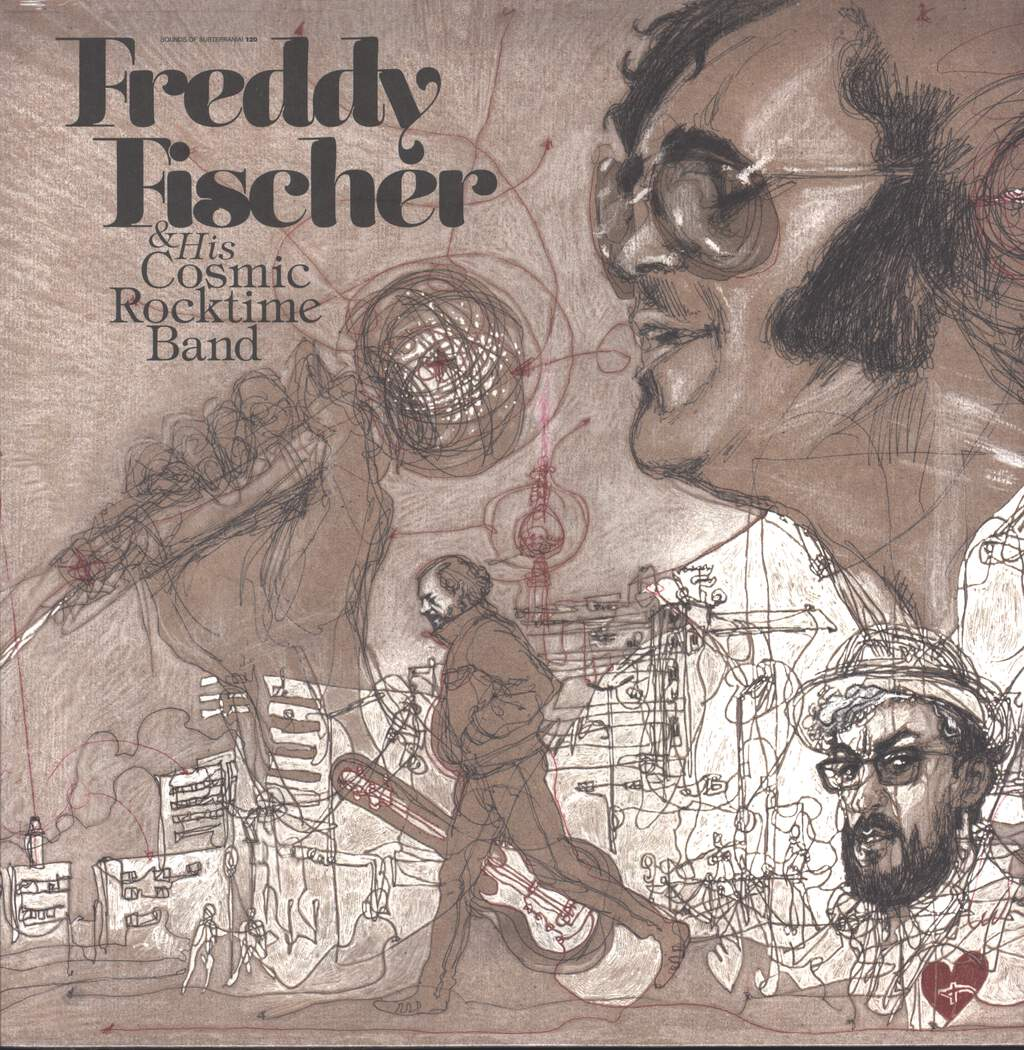 Freddy Fischer And His Cosmic Rocktime Band: Dreimal Um Die Sonne, LP (Vinyl)
