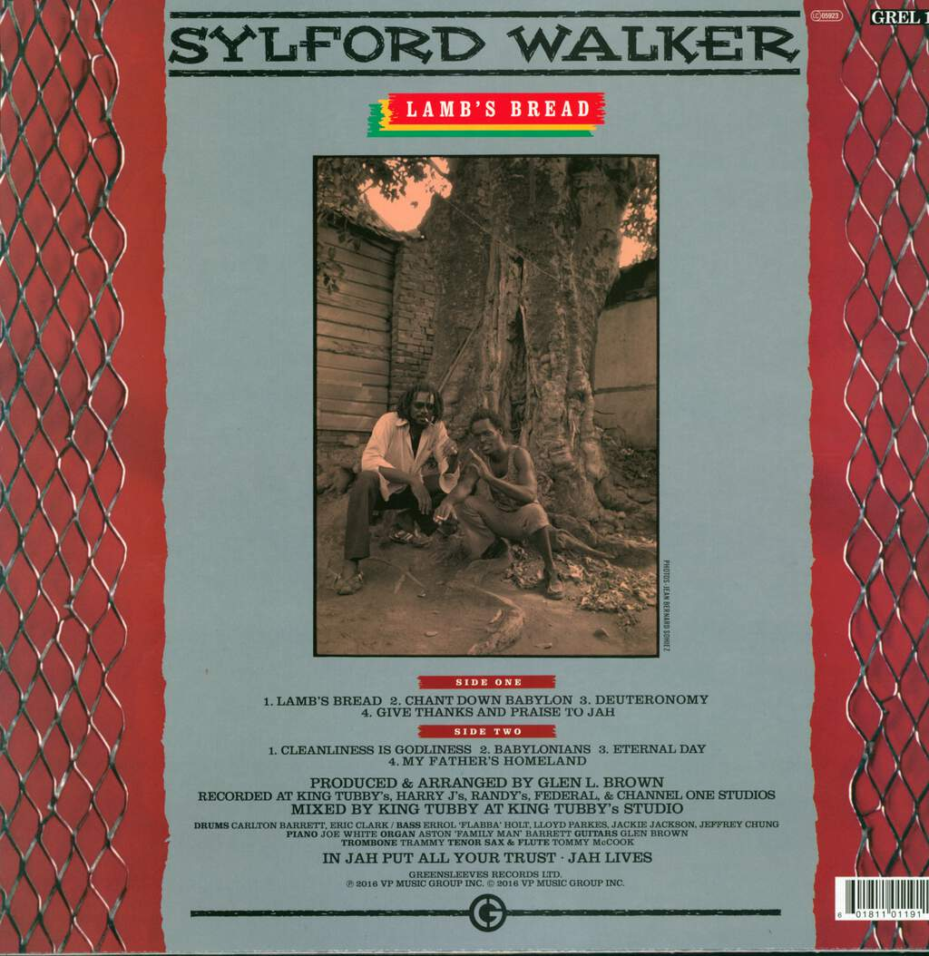 Sylford Walker: Lamb's Bread, LP (Vinyl)