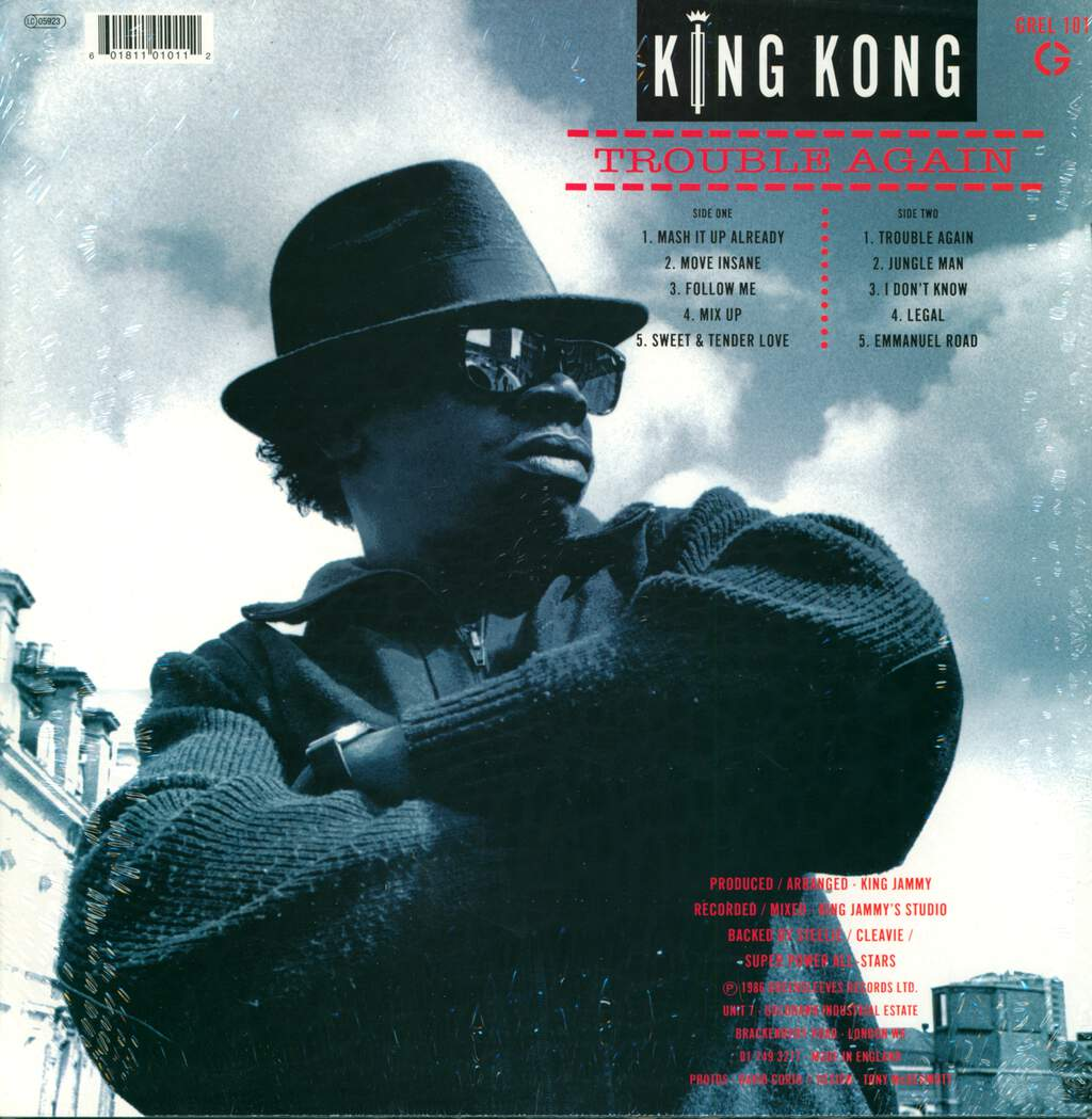 King Kong: Trouble Again, LP (Vinyl)