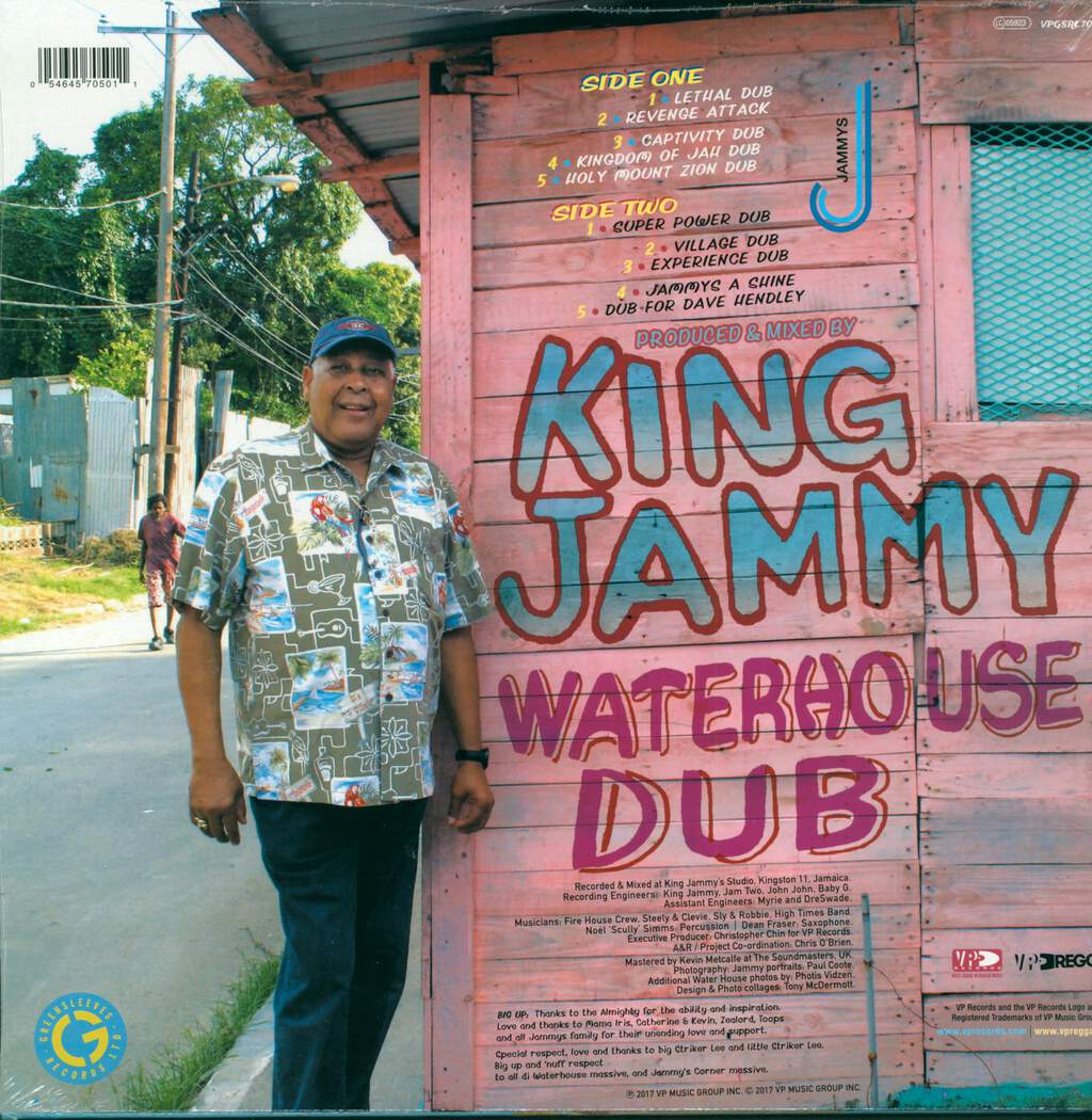 King Jammy: Waterhouse Dub, LP (Vinyl)