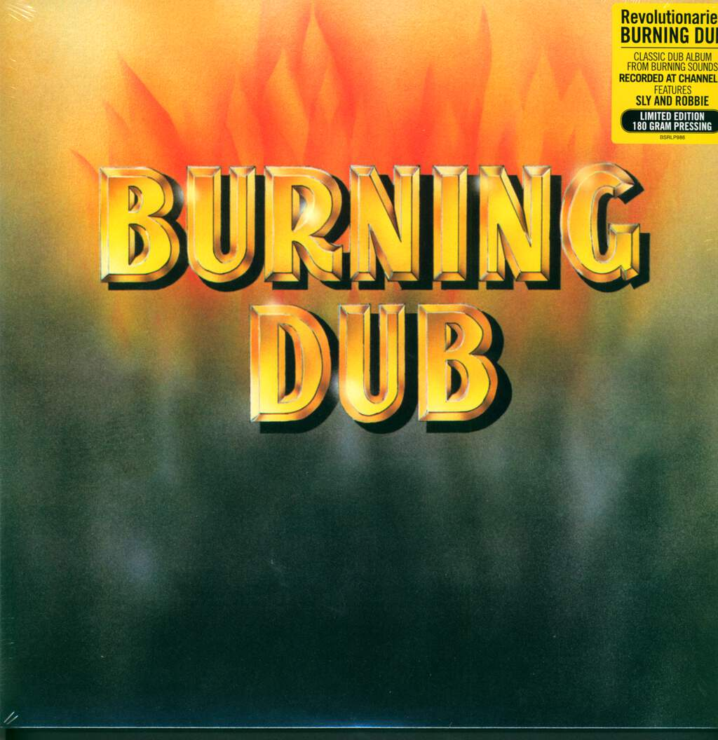 The Revolutionaries: Burning Dub, LP (Vinyl)