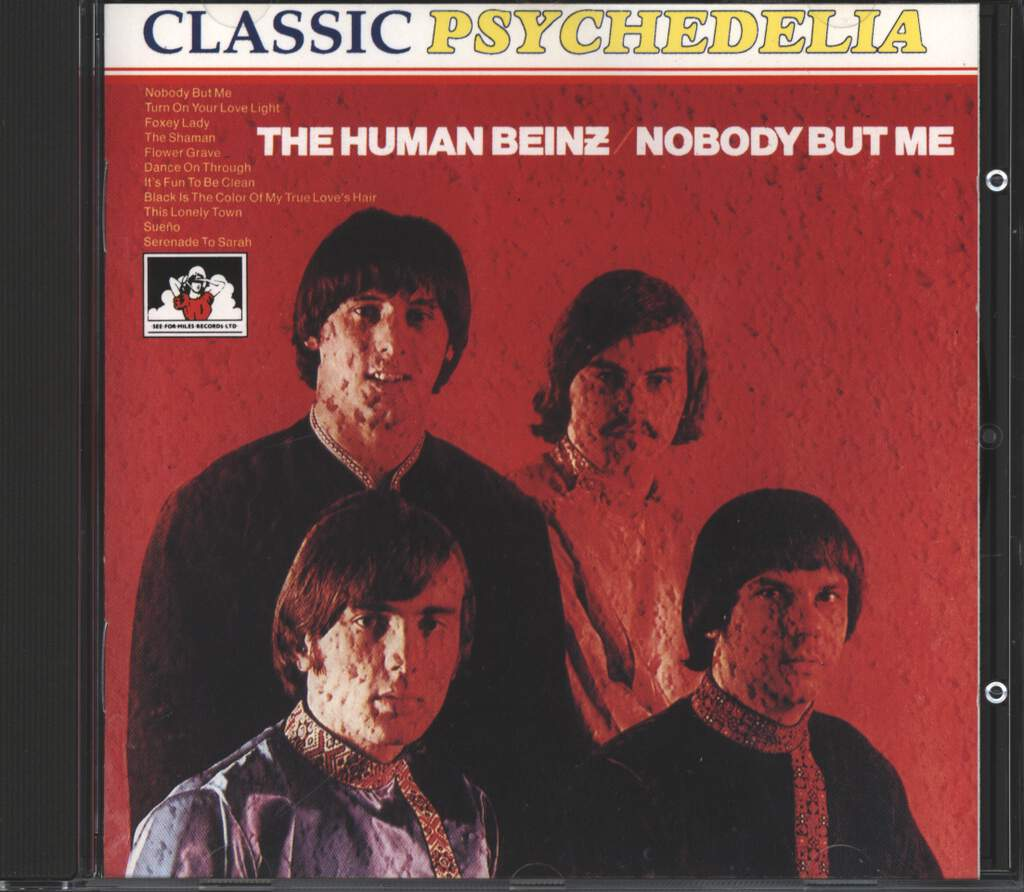 The Human Beinz: Nobody But Me, CD