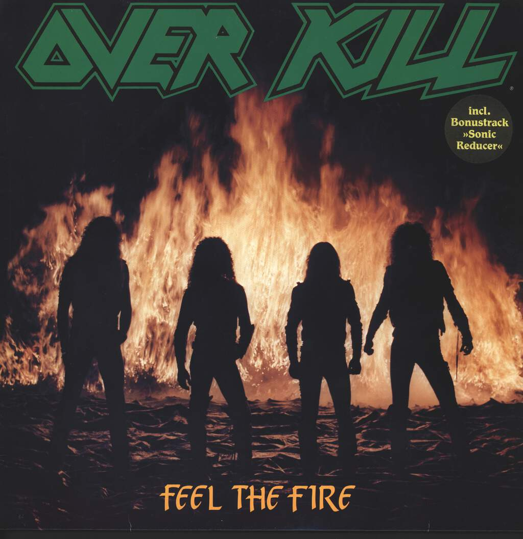 Overkill: Feel The Fire, LP (Vinyl)