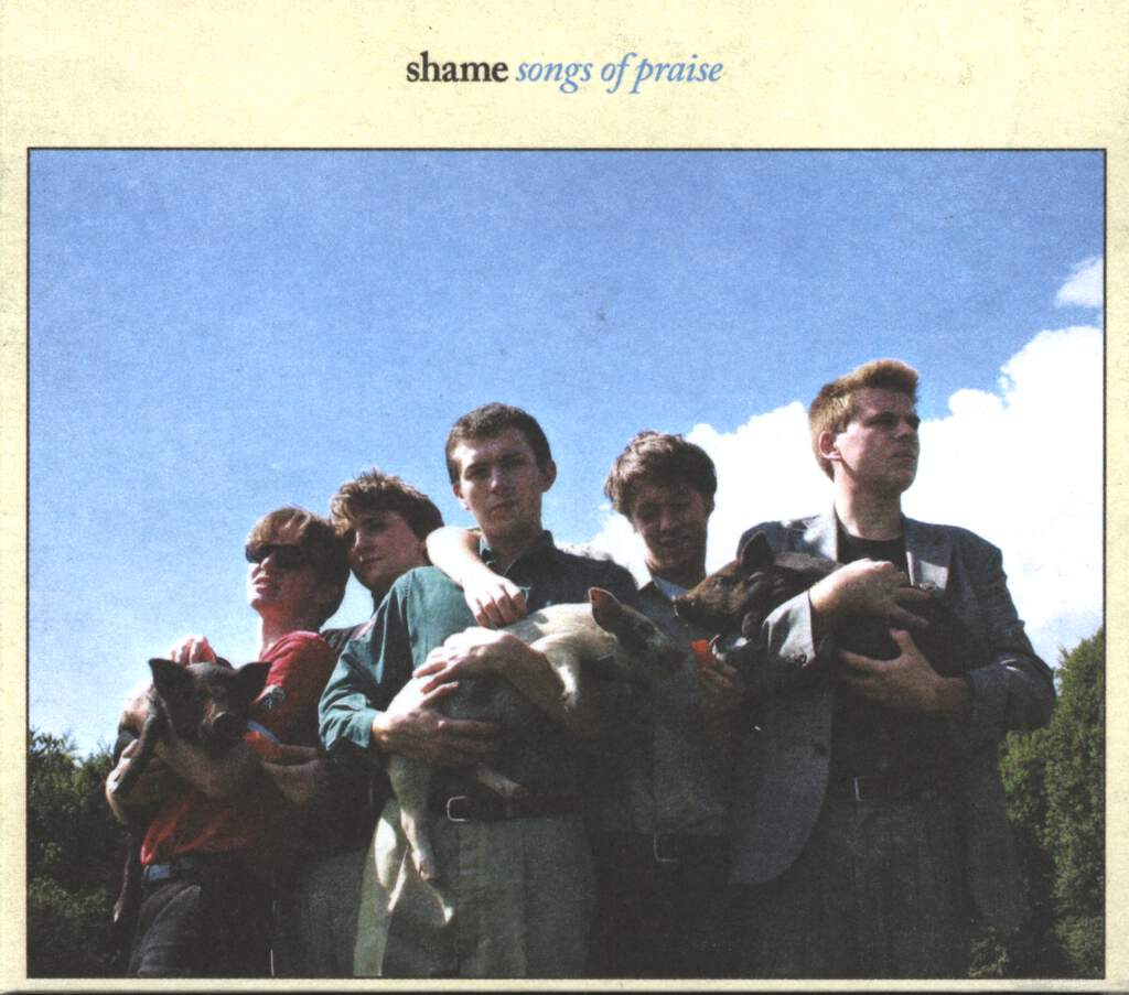 Shame: Songs Of Praise, CD