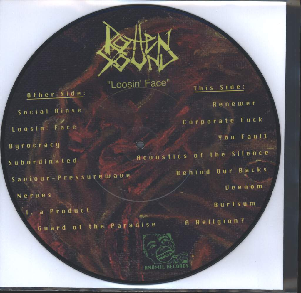 Rotten Sound: Loosin' Face, Mini LP (Vinyl)