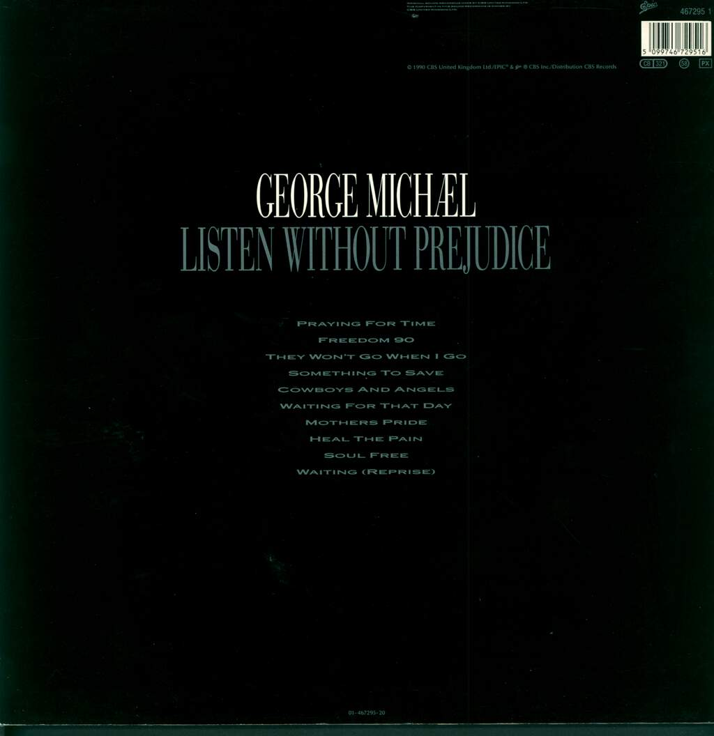 George Michael: Listen Without Prejudice Vol. 1, LP (Vinyl)