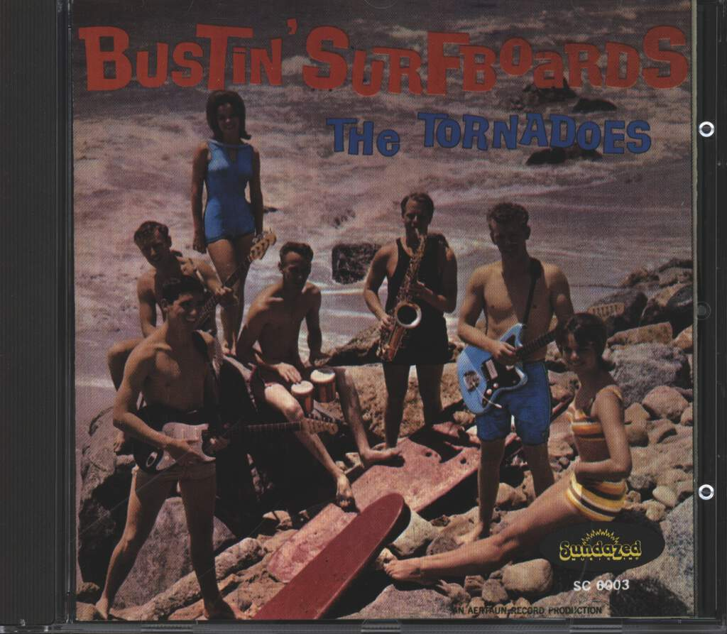 The Tornadoes: Bustin' Surfboards, CD