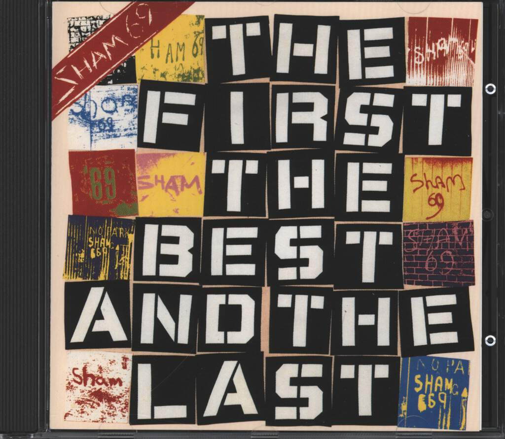 Sham 69: The First The Best And The Last, CD