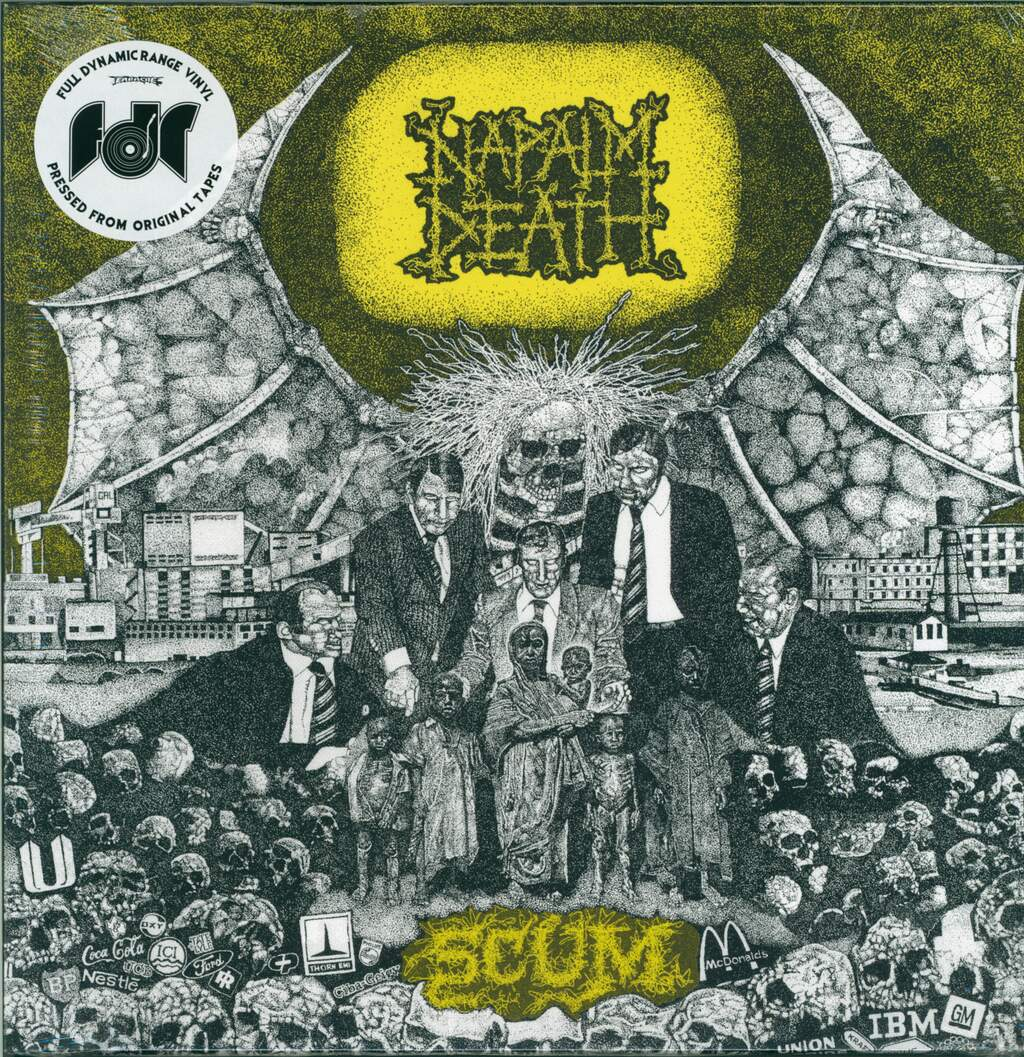 Napalm Death: Scum, LP (Vinyl)