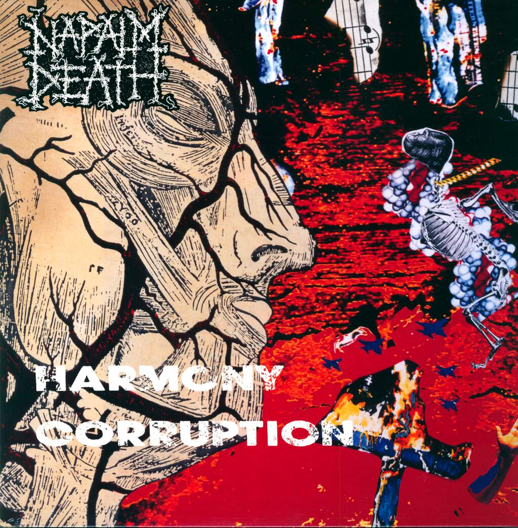 Napalm Death: Harmony Corruption, LP (Vinyl)