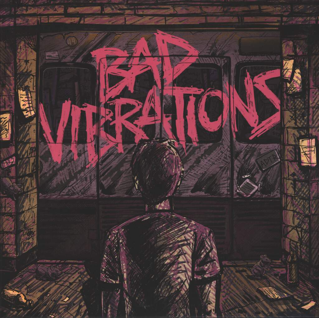 A Day To Remember: Bad Vibrations, LP (Vinyl)