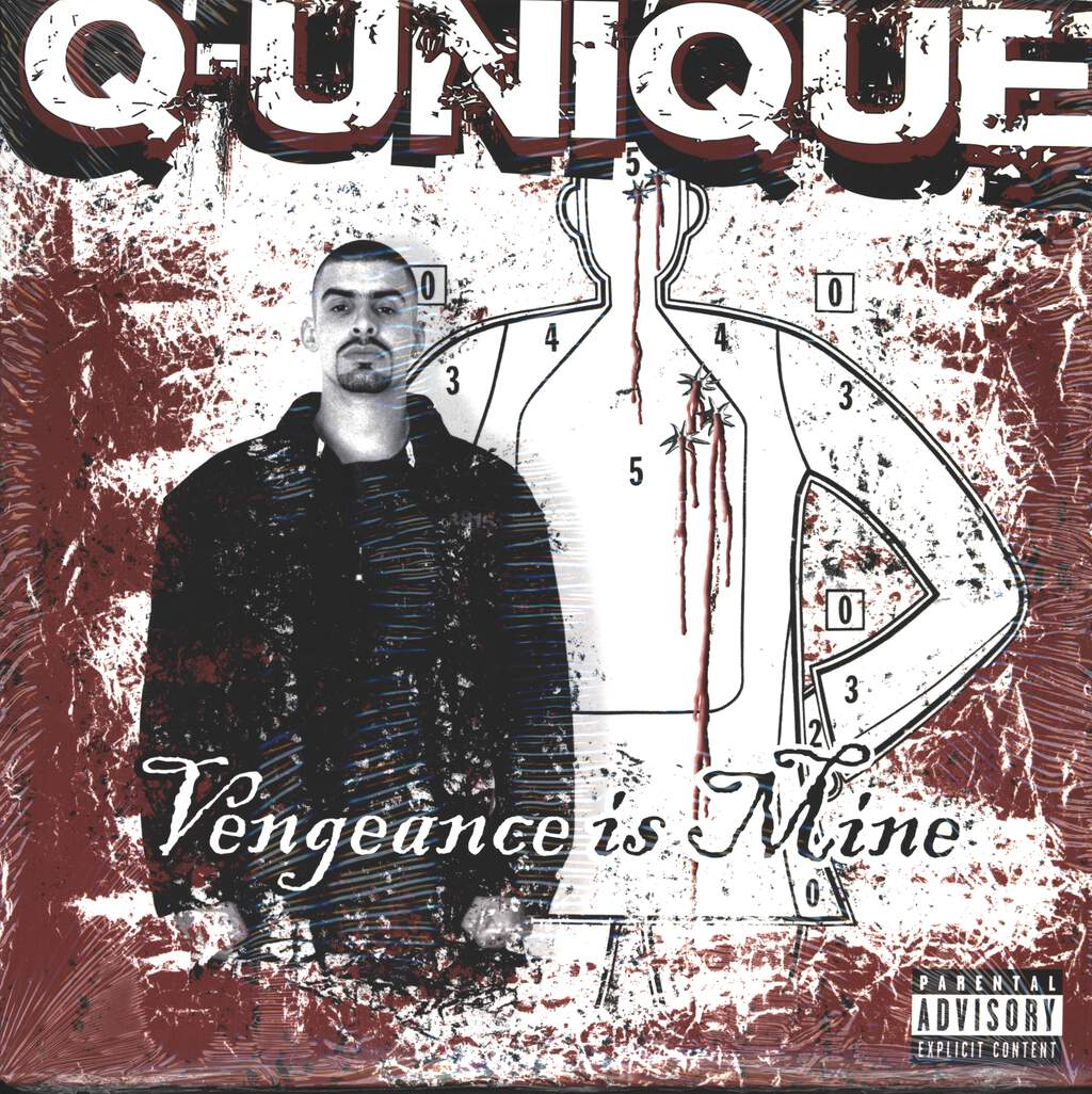 Q-Unique: Vengeance Is Mine, LP (Vinyl)
