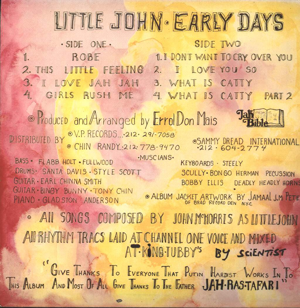 Little John: Early Days, LP (Vinyl)