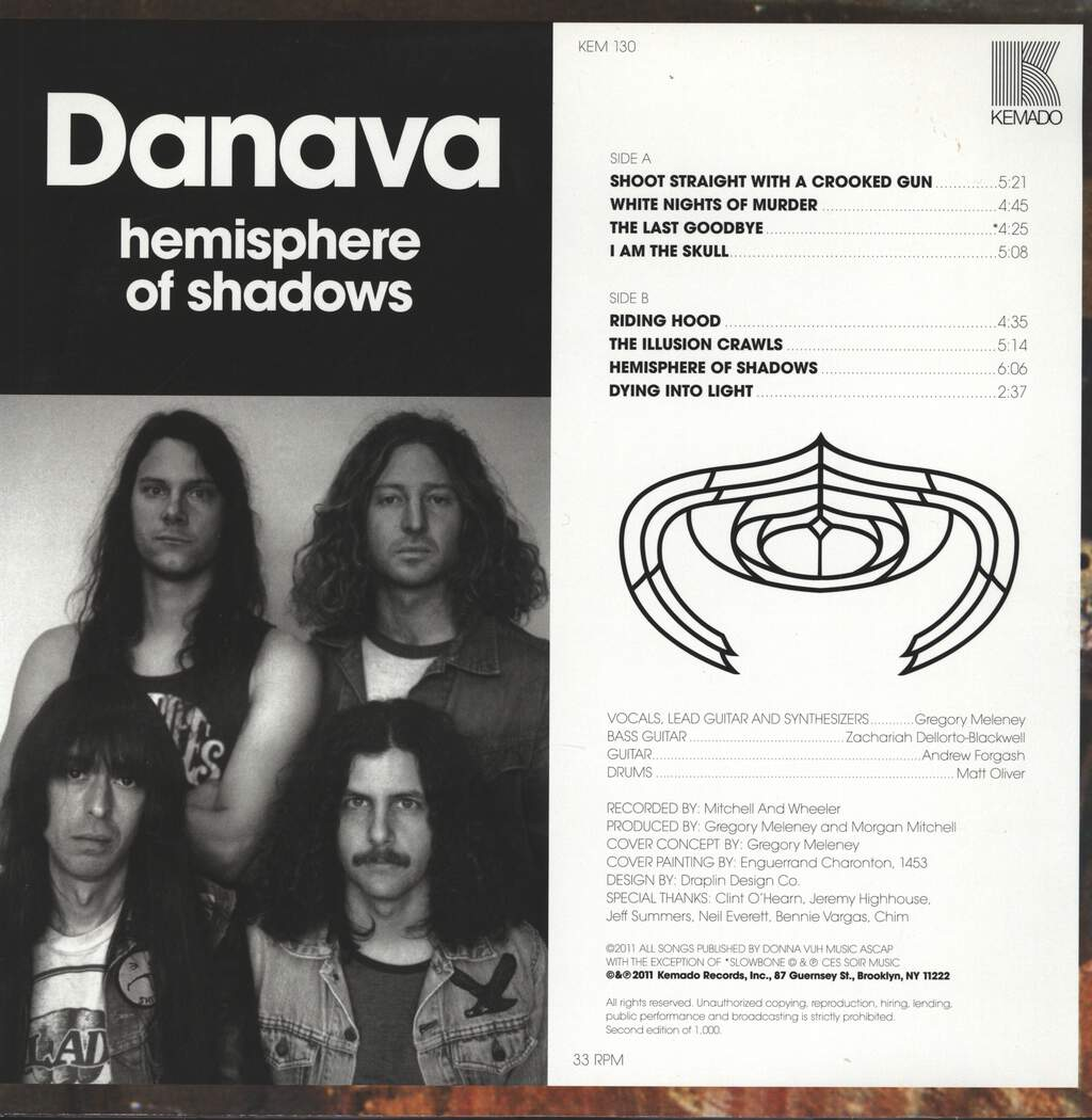 Danava: Hemisphere Of Shadows, LP (Vinyl)