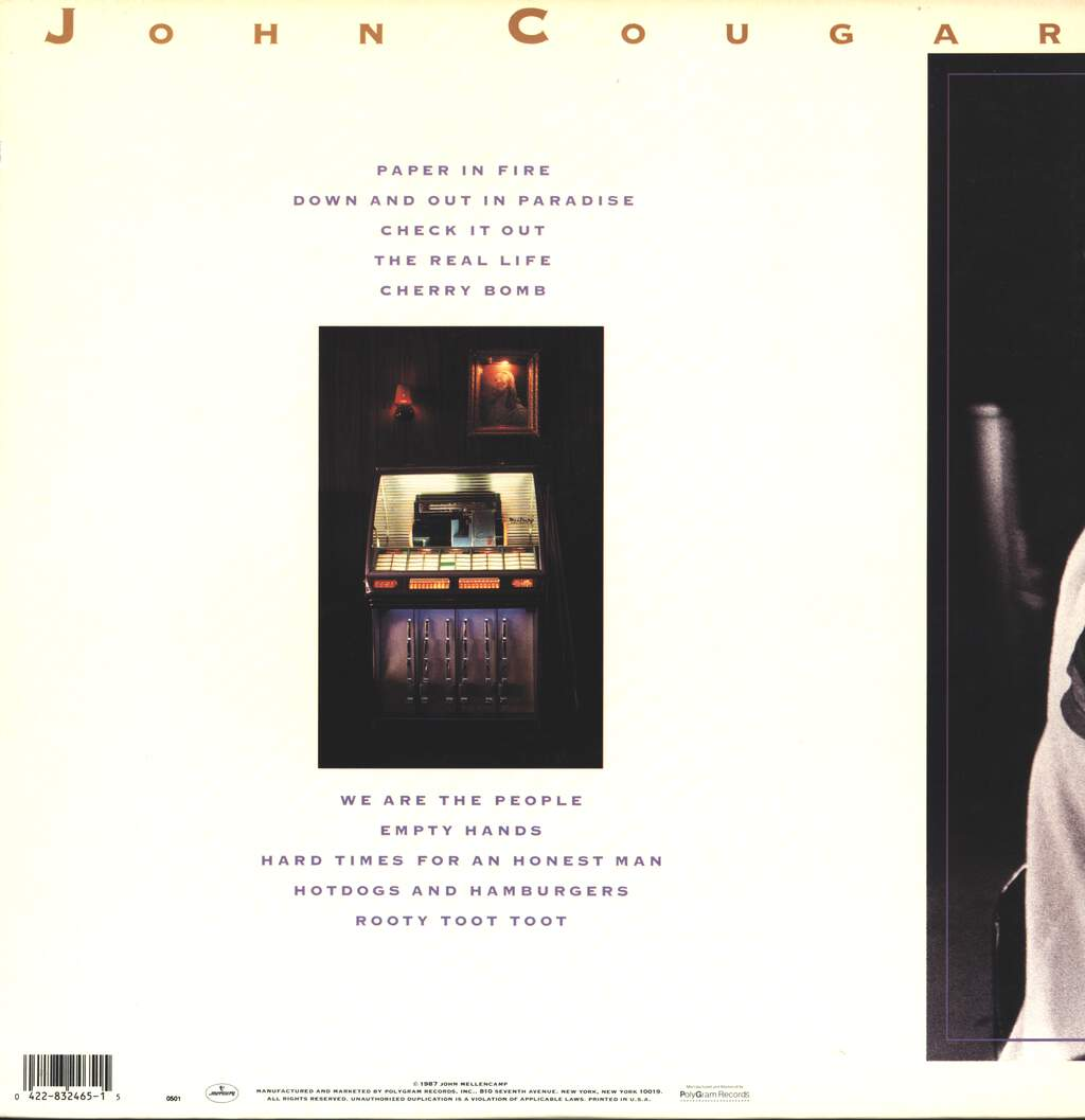 John Cougar Mellencamp: The Lonesome Jubilee, LP (Vinyl)