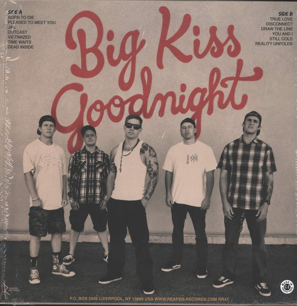 Trapped Under Ice: Big Kiss Goodnight, LP (Vinyl)
