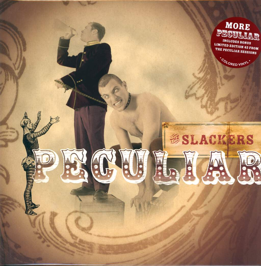 The Slackers: Peculiar, LP (Vinyl)