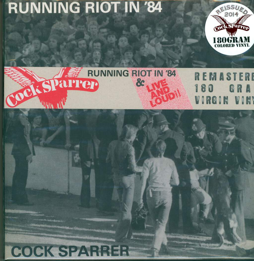 Cock Sparrer: Running Riot In '84 & Live And Loud!, 2×LP (Vinyl)