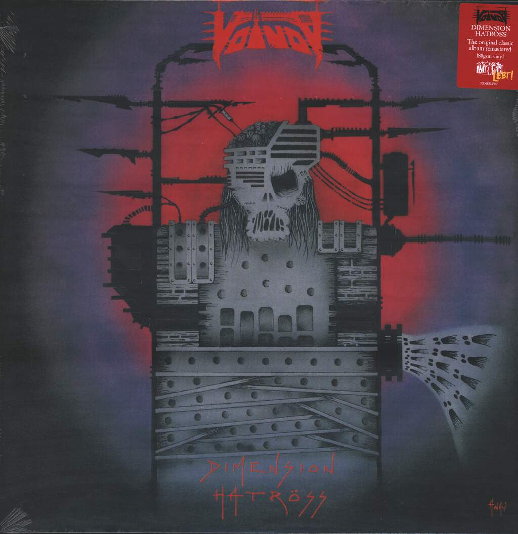 Voivod: Dimension Hatröss, LP (Vinyl)