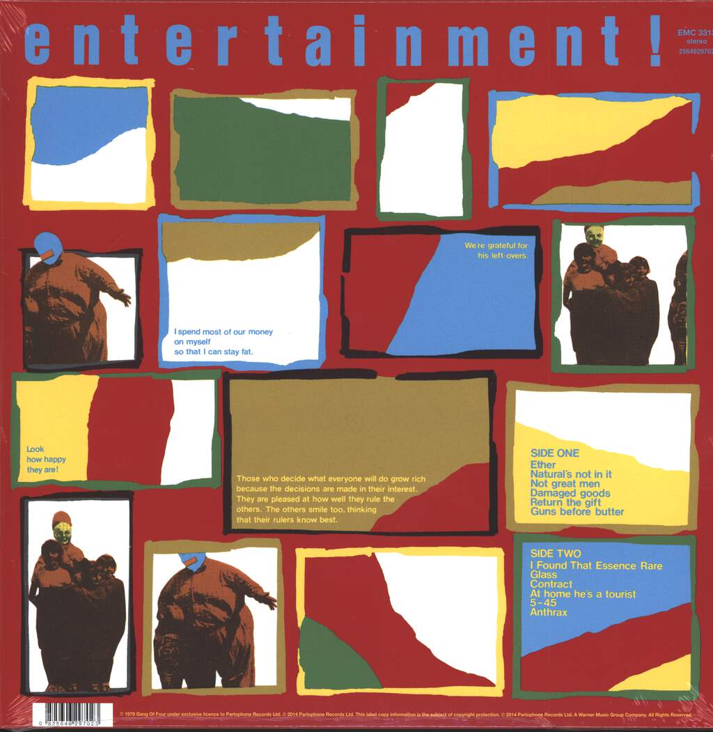 Gang Of Four: Entertainment!, LP (Vinyl)
