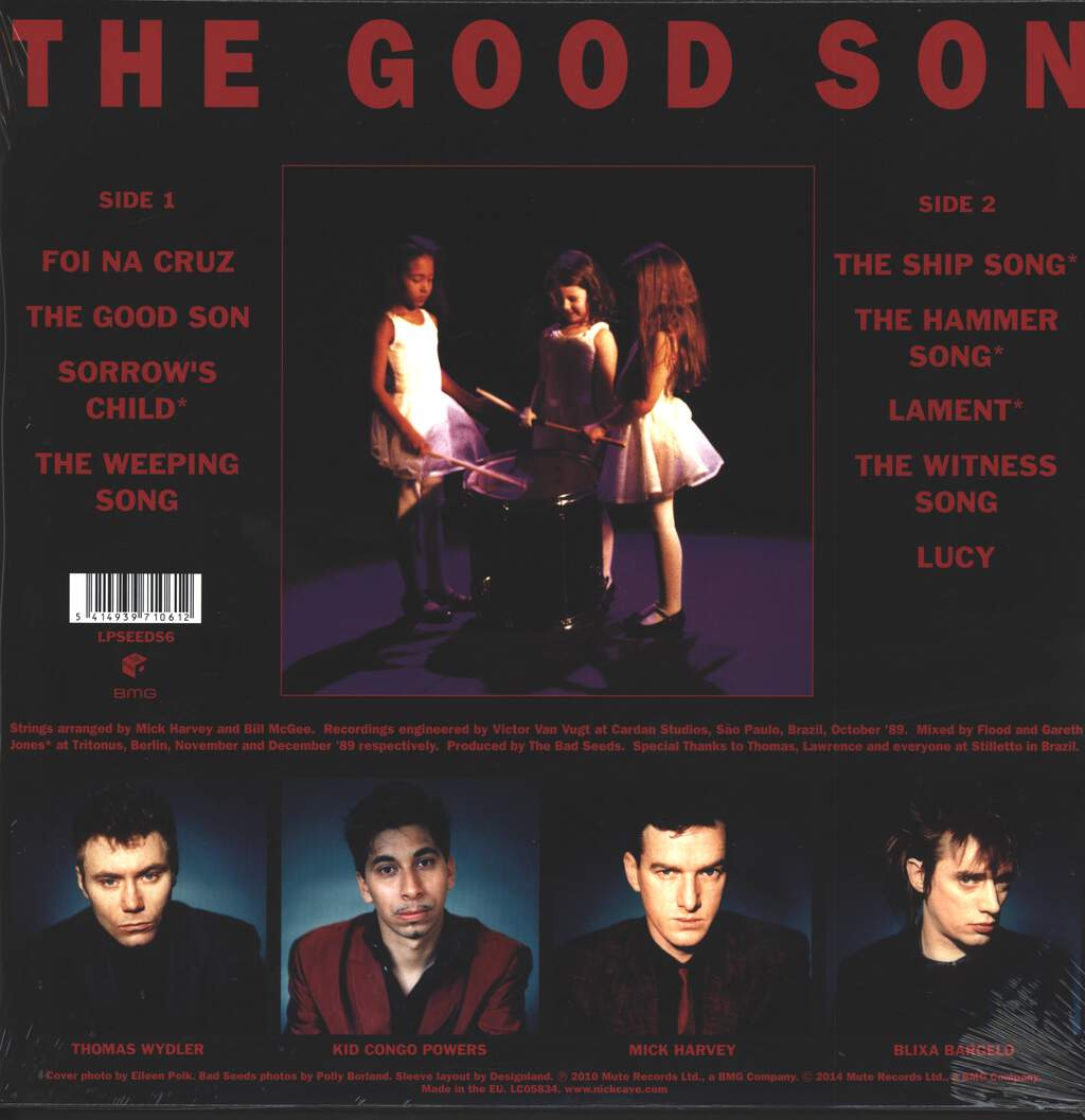 Nick Cave & The Bad Seeds: The Good Son, LP (Vinyl)