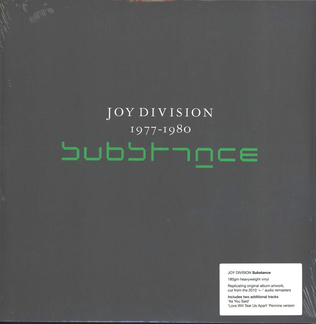 Joy Division: Substance, 2×LP (Vinyl)