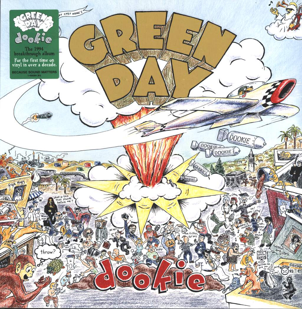 Green Day: Dookie, LP (Vinyl)