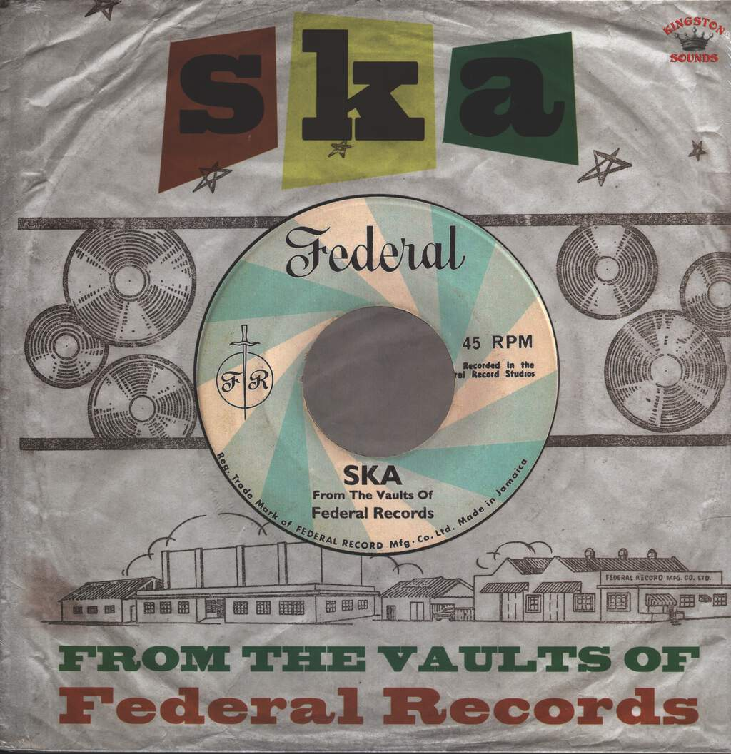 Various Artists: Ska From The Vaults Of Federal Records, LP (Vinyl)