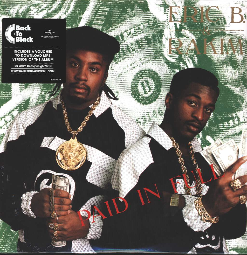 Eric B & Rakim: Paid In Full, 2×LP (Vinyl)
